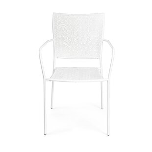 Carver Stacking Garden Chair (Set Of 4) By World Menagerie