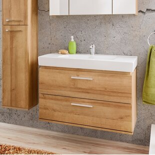 Remik 800mm Wall Mounted Vanity Unit By Belfry Bathroom