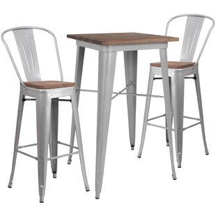 Preble 3 Piece Pub Table Set