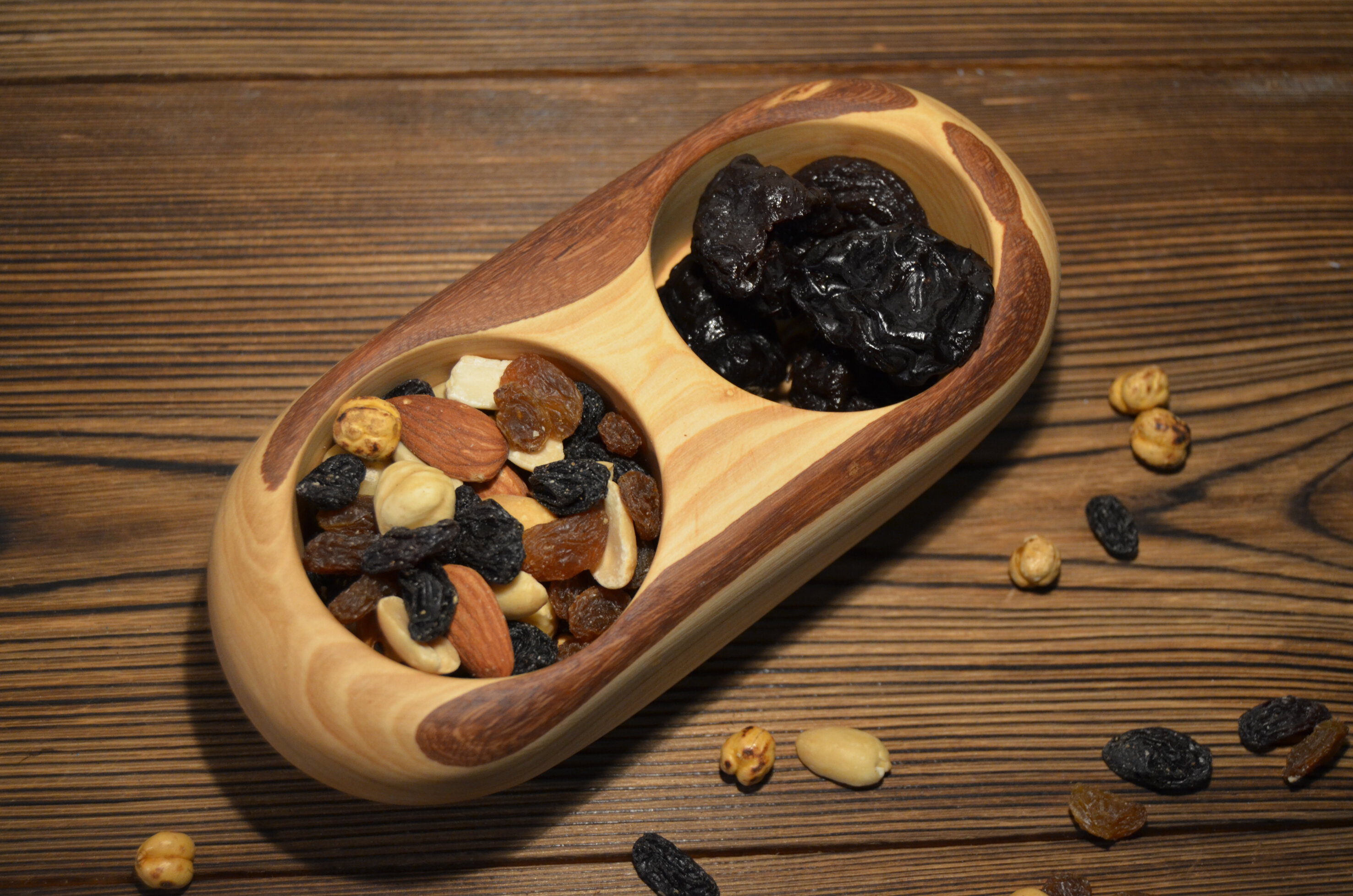 Pomegranate Solutions Olive Wood Candy/Nut bowl   Wayfair