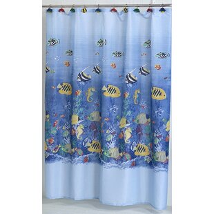 Tropical Sea Single Shower Curtain