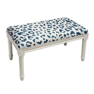 Augustine Cheetah Wood Bench