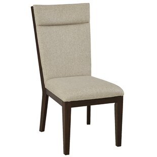 Poppe Upholstered Dining Chair (Set of 2) Union Rustic