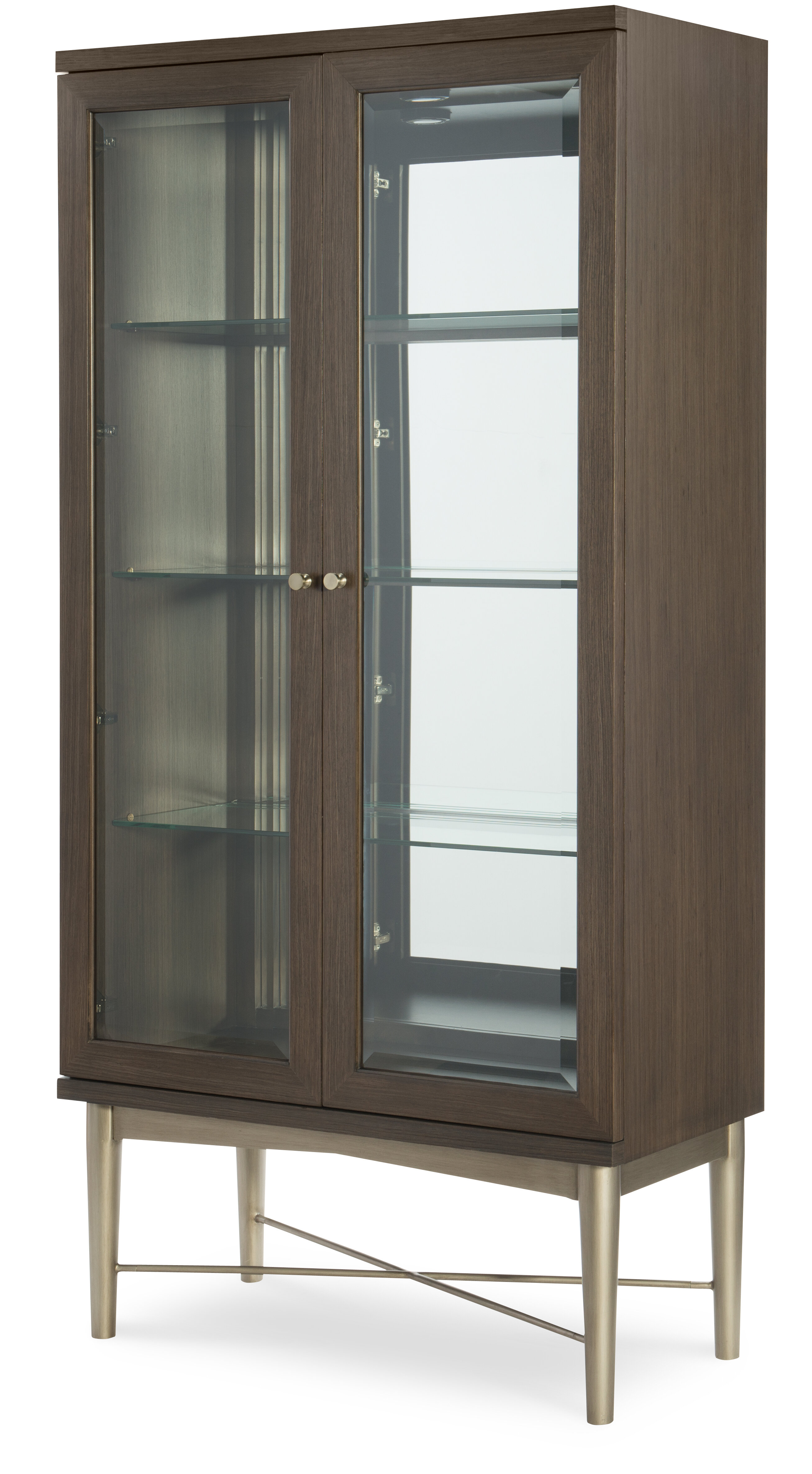 Rachael Ray Home Soho By Rachael Ray Home Lighted Curio Cabinet | Wayfair