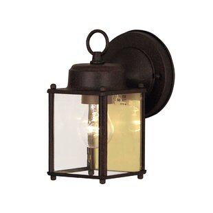 Catanzaro 1-Light Outdoor Wall Lantern by Highland Dunes