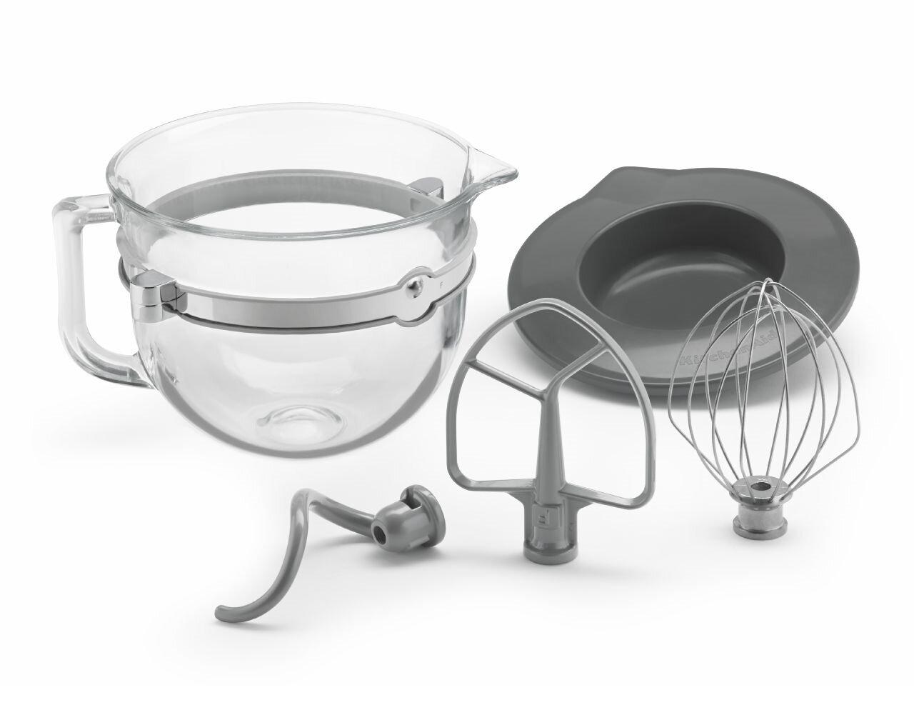 2286251e58a KitchenAid 6-qt. Glass Bowl Accessory Bundle   Reviews
