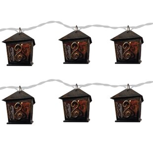 The Holiday Aisle Lantern 10 Light Novelty String Light