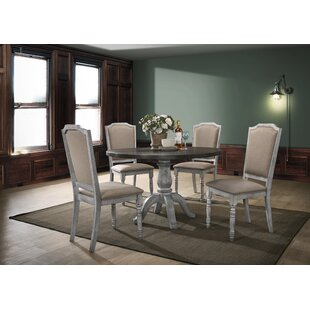 Mariposa 5 Piece Solid Wood Dining Set
