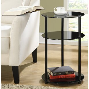 Beckett Three Tier End Table