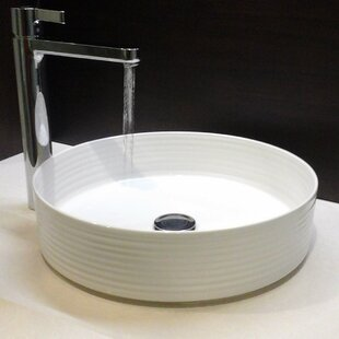 Reviews Regatta Circular Vessel Bathroom Sink By Nantucket Sinks