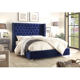 big sale a5903 992d4 Blue Platform (Box Spring Not Required) Beds You'll Love ...