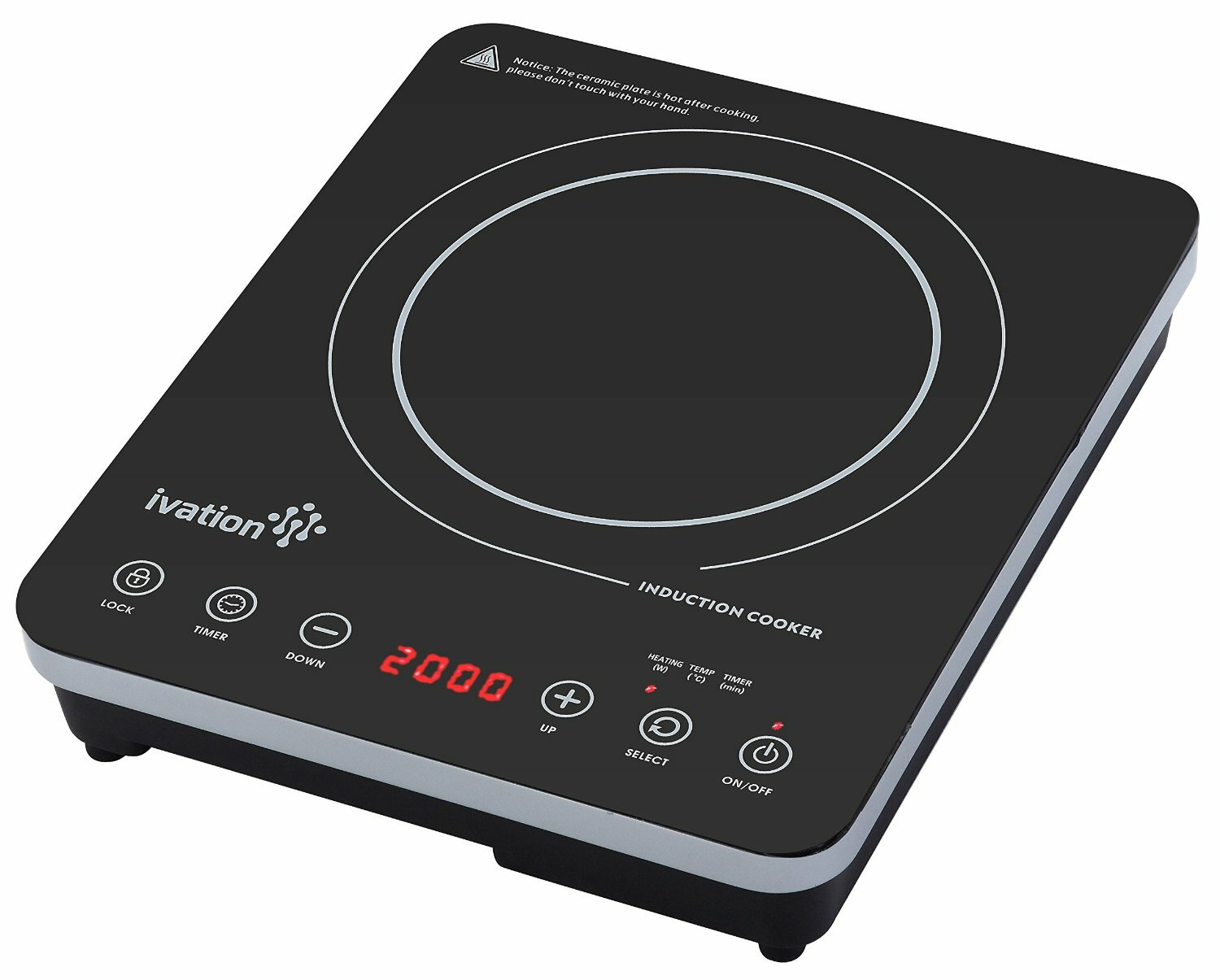 Ivation 16 Induction Cooktop With 1 Burner Wayfair Ca