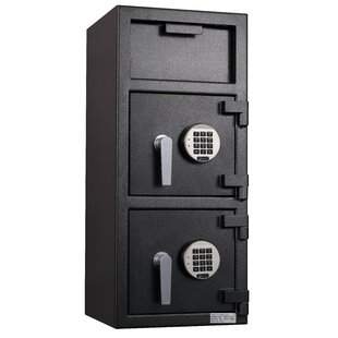 Protex Safe Co. Double Door Top-Drop Depository Safe with Electronic Lock