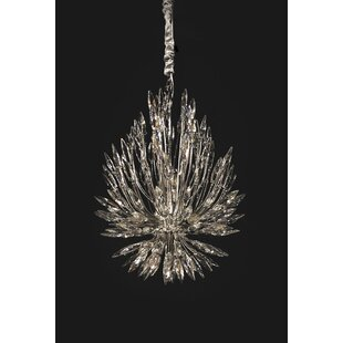 Everly Quinn Robbins 22-Light Crystal Chandelier