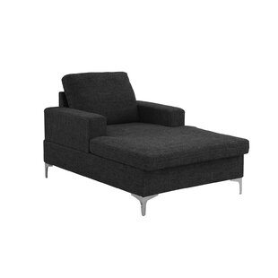 Lyndell Mid-Century Chaise Lounge