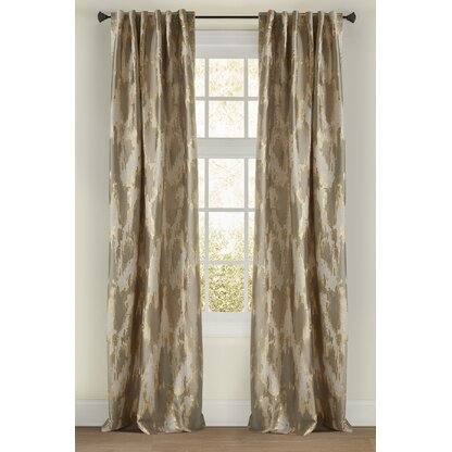 Luxury Gray Silver Curtains Drapes Perigold