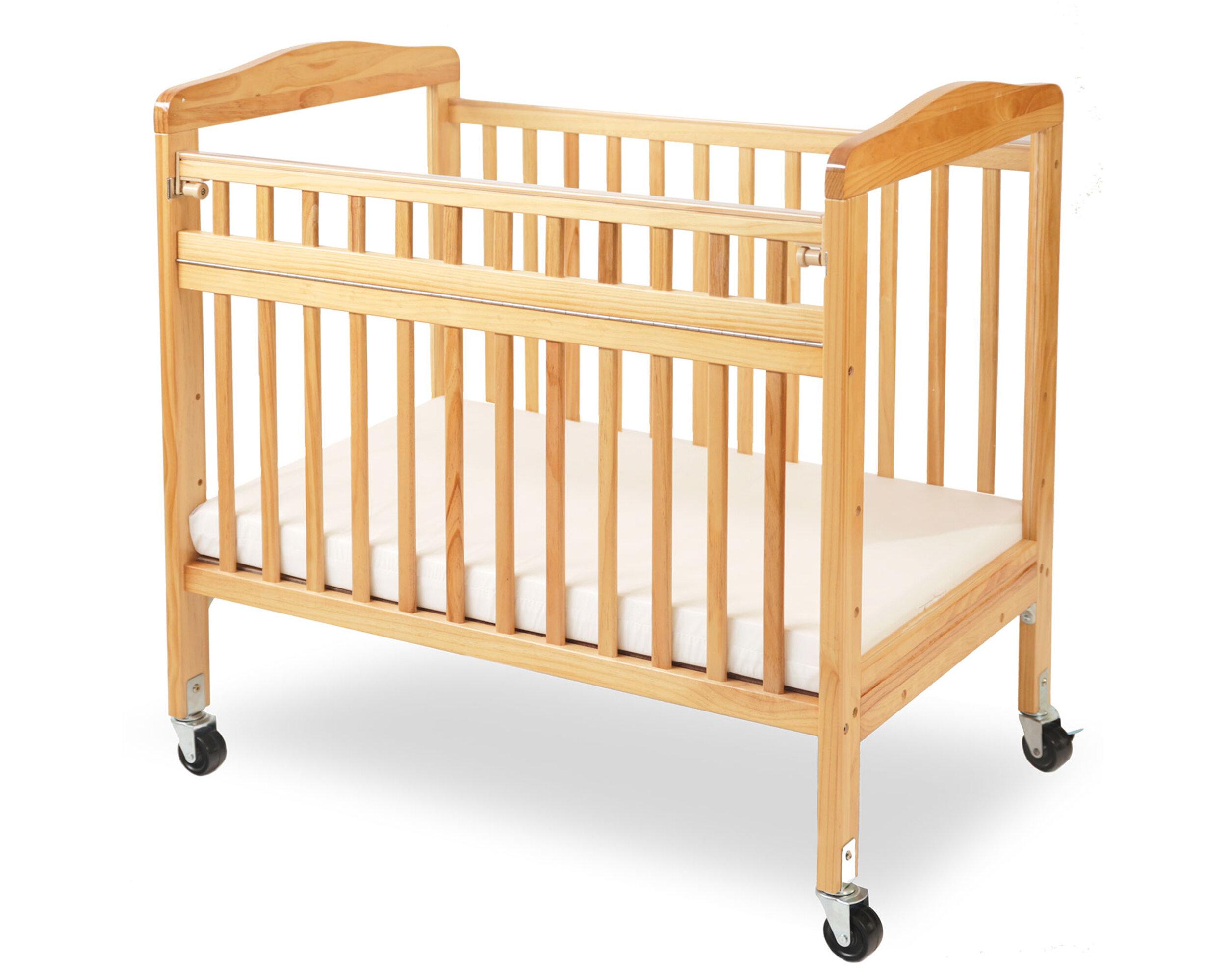 Harriet Bee Deegan Portable Crib With Mattress Reviews Wayfair