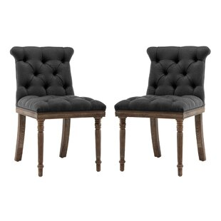 Ligia Upholstered Dining Chair (Set of 2) One Allium Way