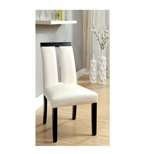 Kristina Upholstered Dining Chair (Set of 2) Orren Ellis