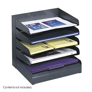 Safco Products Company Five Tier Steel Desk Tray