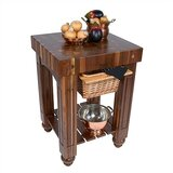 American Heritage Kitchen Island with Butcher Block Top by John Boos