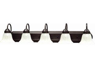 Shop for Minster 5-Light Vanity Light By Volume Lighting