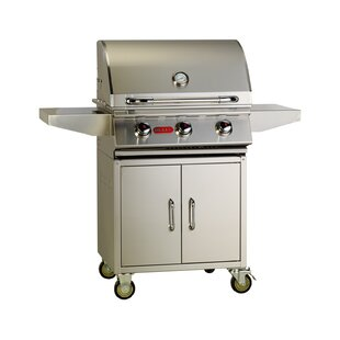Steer Premium 3-Burner Propane Gas Grill With Cabinet By Bull Outdoor Products