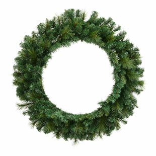 Brussels 61cm Lighted Pine Wreath By The Seasonal Aisle