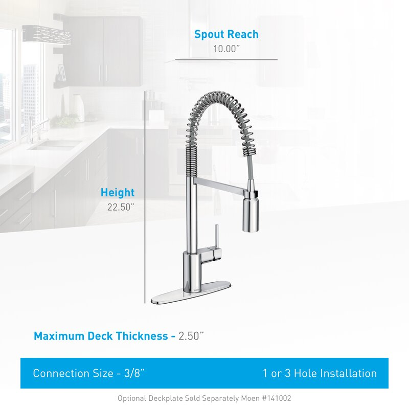 Align Pull Down Single Handle Kitchen Faucet with Duralock ...