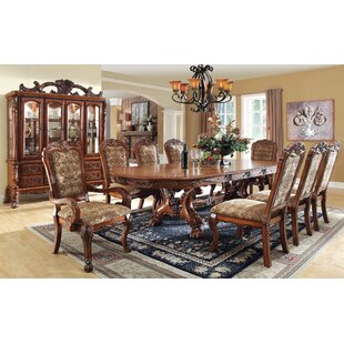 Evangeline 9 Piece Drop Leaf Dining Set