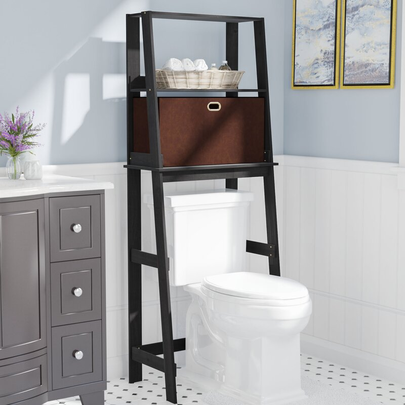 Rebrilliant 152 cm Toiletten-Regal & Bewertungen | Wayfair.de