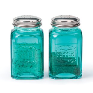 Retro 2-Piece Salt & Pepper Set (Set of 2) By RSVP-INTL