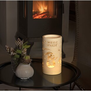Review Warm White Snow Glitter Lantern Merry Christmas With Snowman Scene Lamp