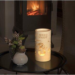 Best Warm White Snow Glitter Lantern Merry Christmas With Snowman Scene Lamp