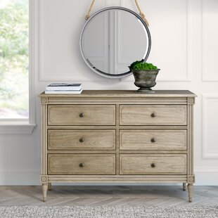 Broadway 6 Drawer Double Dresser by Greyleigh