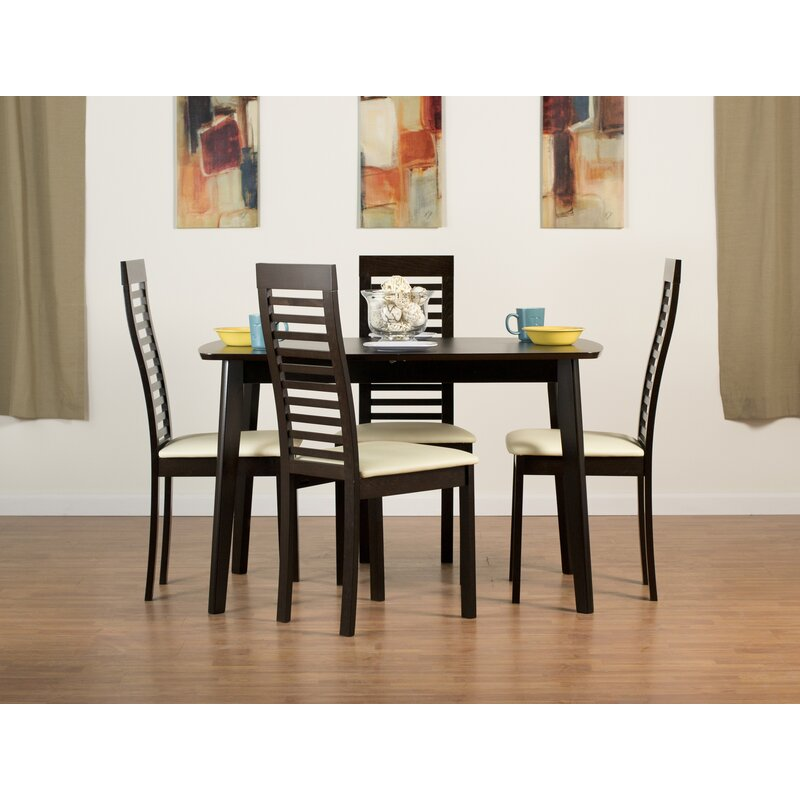Aeon Furniture Dayton Extendable Solid Wood Dining Table Reviews Wayfair