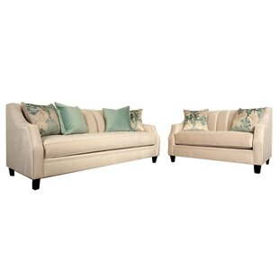 Weinstock 2 Piece Living Room Set by Canora Grey