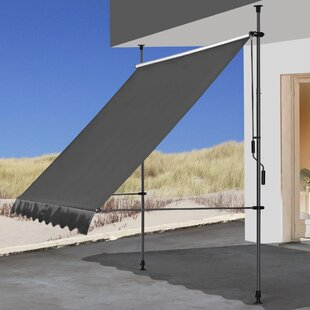 W 2.5 X D 1.5m Retractable Patio Awning By Quick-Star