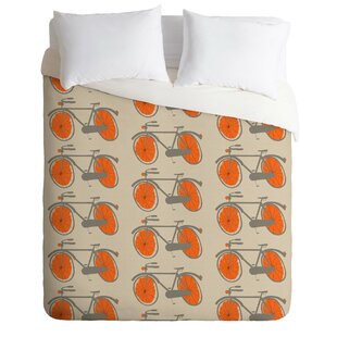 East Urban Home Bicycles Duvet Cover Set