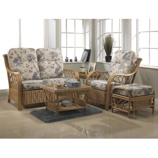 Mercedes 5 Piece Conservatory Sofa Set By Beachcrest Home