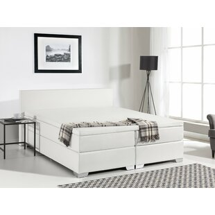 Gaskill Upholstered Platform Bed with Mattress