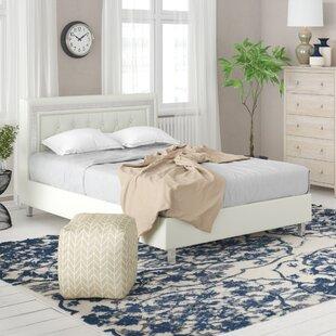 Discount Keys Upholstered Panel Bed