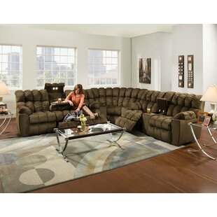Shop Harrold Reclining Sectional by Red Barrel Studio