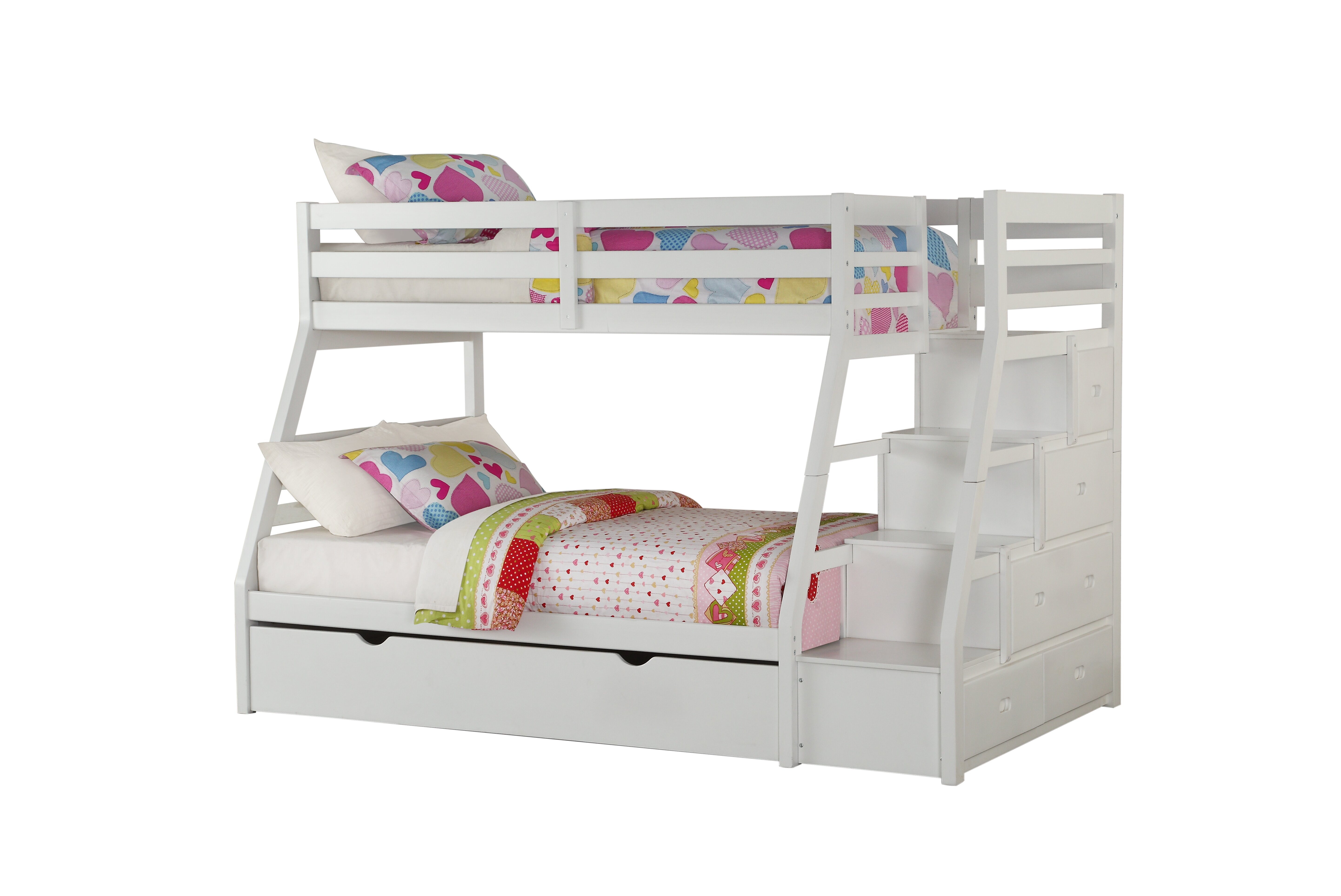 Reece Twin Over Full Bunk Bed With Trundle Reviews Joss Main