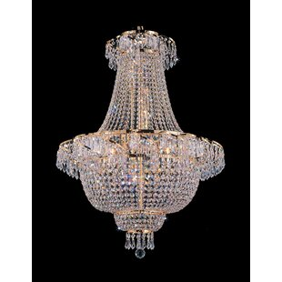 House of Hampton Montana 9-Light Chandelier