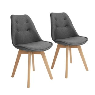 Buying Flinchum Upholstered Dining Chair (Set of 2) by George Oliver Reviews (2019) & Buyer's Guide