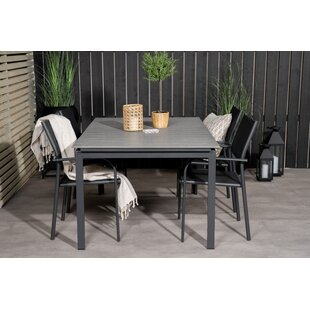 Albimarle 4 Seater Dining Set By Sol 72 Outdoor