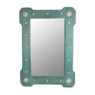 Best Reviews Sherwick Concho Wall Mirror By Rosecliff Heights