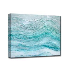 'Neptune's Fury' by Norman Wyatt Jr. Framed Painting Print