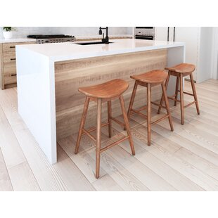 Penfold 25.6 Bar Stool (Set Of 2) by Latitude Run Great price